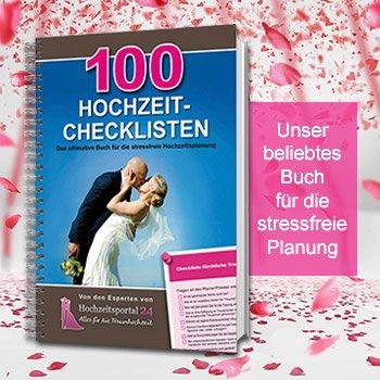 Hochzeitsbuch 100 Hochzeits-Checklisten