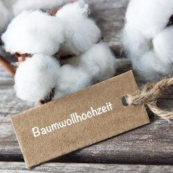 Baumwollhochzeit 1Jahr
