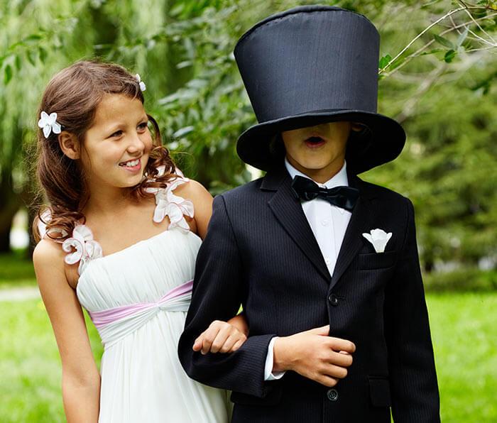 Kinderkleidung Fur Die Hochzeit Hochzeitsportal24