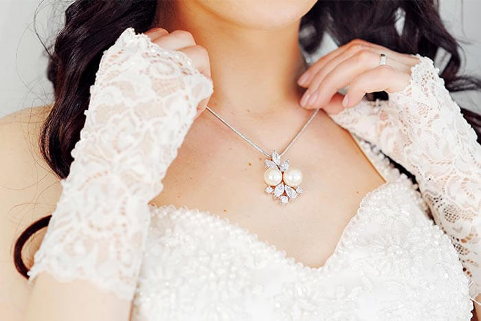 Brautschmuck Halskette