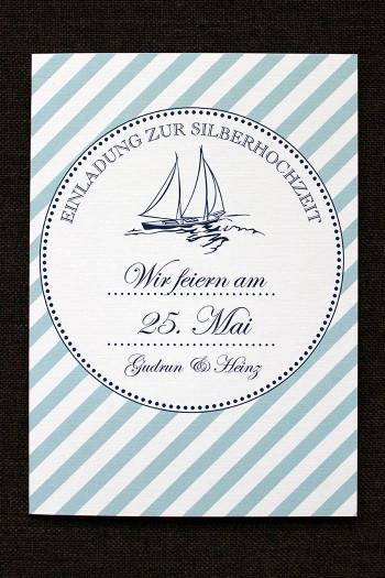 Einladungskarten Silberhochzeit Vorlagen