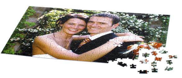 Selbst Gestaltetes Fotopuzzle Hochzeitsportal24
