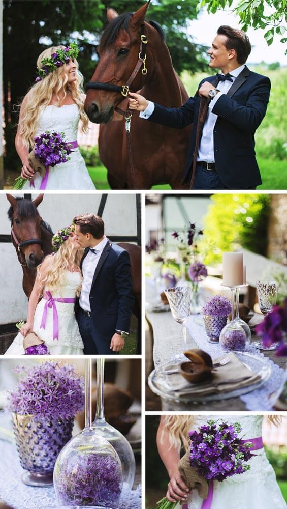 Fotostory Rustikale Hochzeit