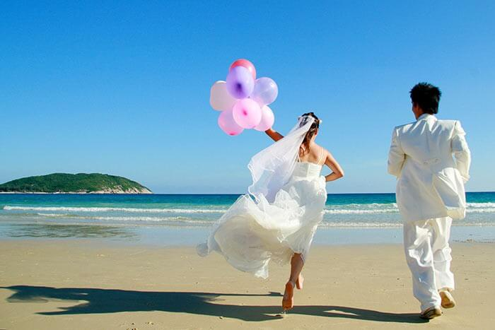 Heiraten Ausland Flitterwochen