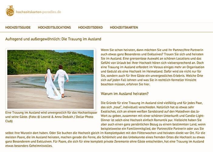 Heiraten in Australien Ratgeber