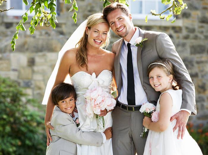 Heiraten Mit Eigenen Kindern So Wird S Ein Toller Tag