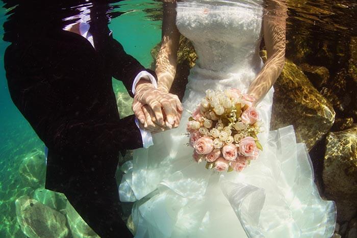 Heiraten unter Wasser Australien