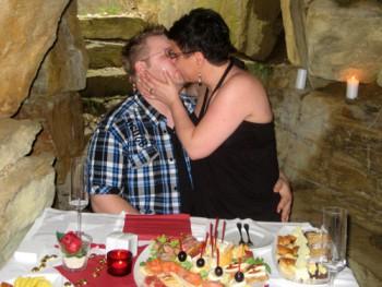 Heiratsantrag Picknick Höhle