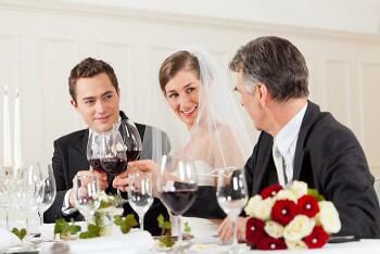 Hochzeit Brautpaar Getränke