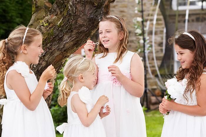 Hochzeit Seifenblasen Kinder