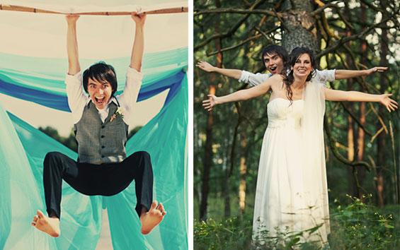 Hochzeitsbilder witzig