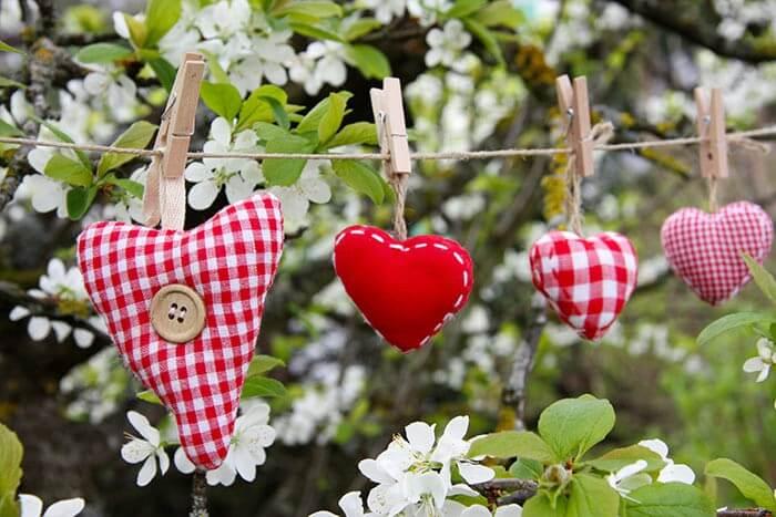 Hochzeitsdeko Herzen