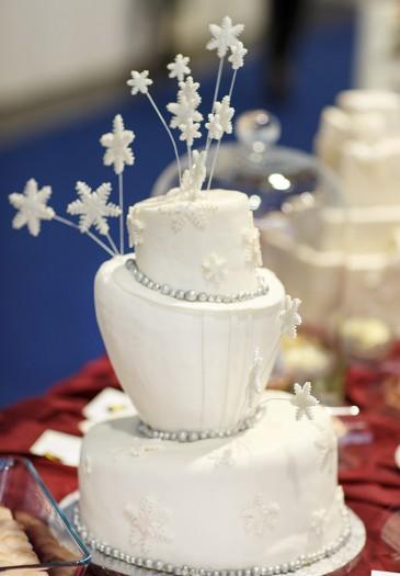 Hochzeitstorte Winter