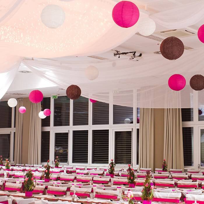 Lampions Hochzeit