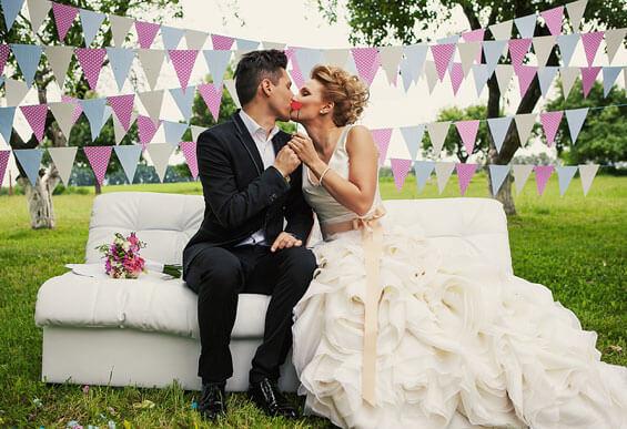 Lustige Brautpaarbilder