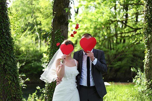 Lustige Hochzeitsbilder Beispiele
