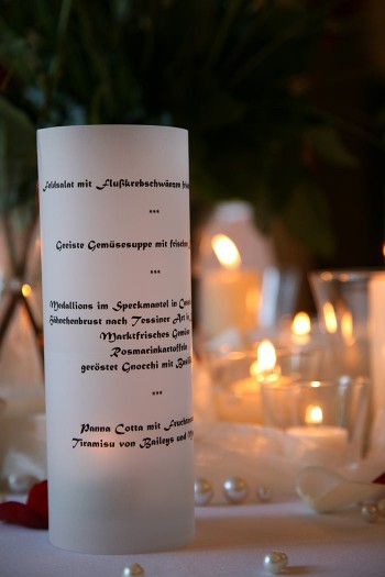 Menukarte Hochzeit Als Tischdeko Galerie Hochzeitsportal24