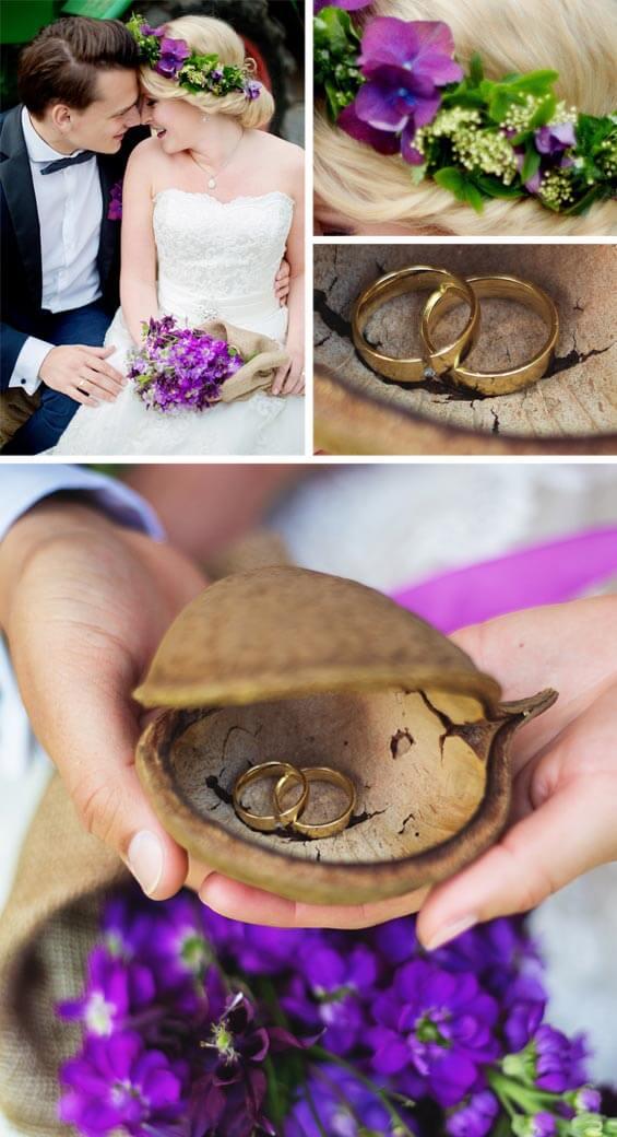 Rustikale Hochzeit Eheringe