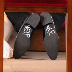 Schuhsticker Bräutigam witzig