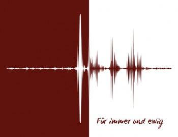 Stimme auf Leinwand