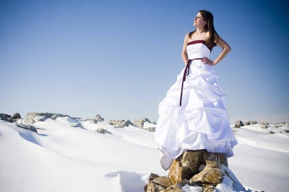 Trash Hochzeitsbilder