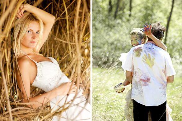 Trash the Dress Brautpaar