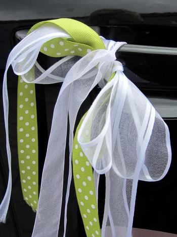 Autoschleifen für die Hochzeit - Kaufen oder basteln?