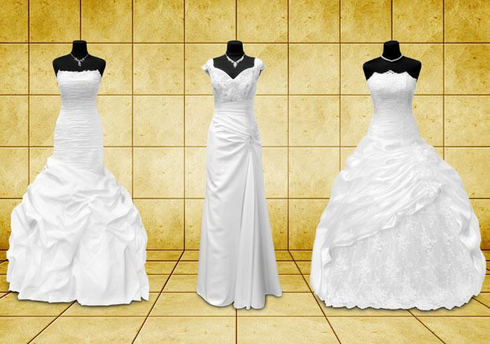 Brautkleider ausleihen - 5 Dinge, die ihr beachten solltet