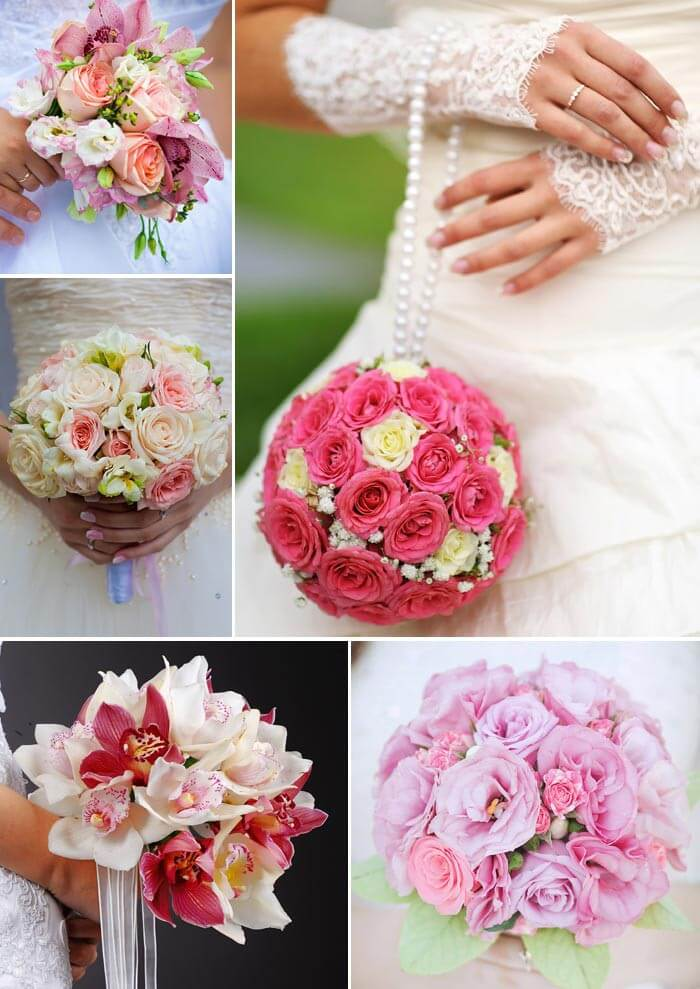 Brautstrauss In Rosa Oder Pink Viele Ideen Von Zart Bis Knallig
