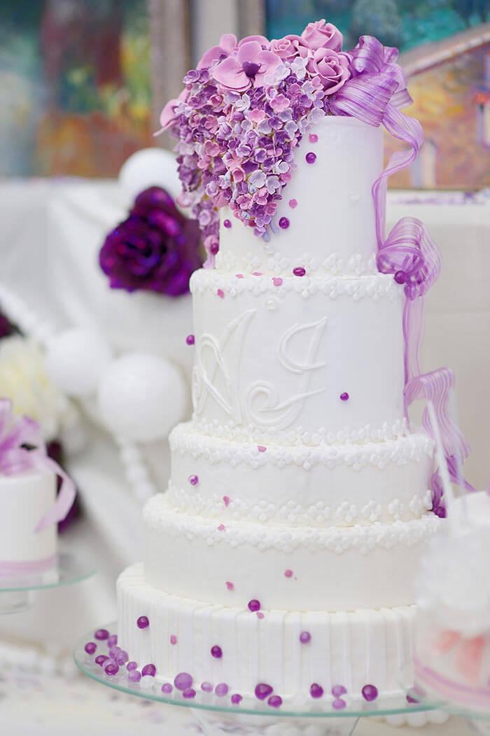 Dekoration Hochzeitstorte