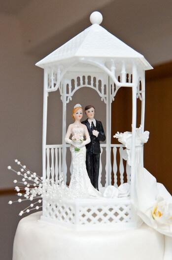 Figur Hochzeitstorte