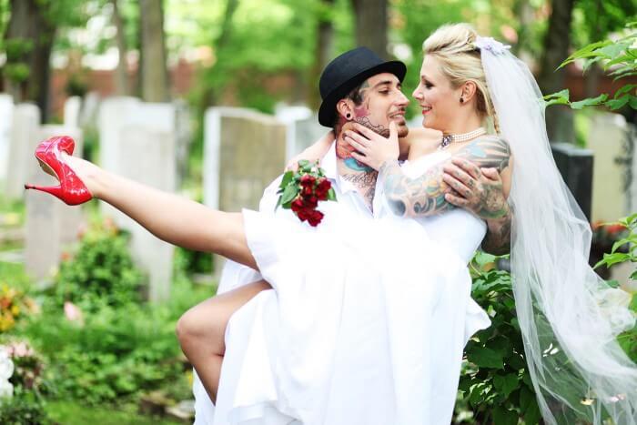 Hochzeitstattoo
