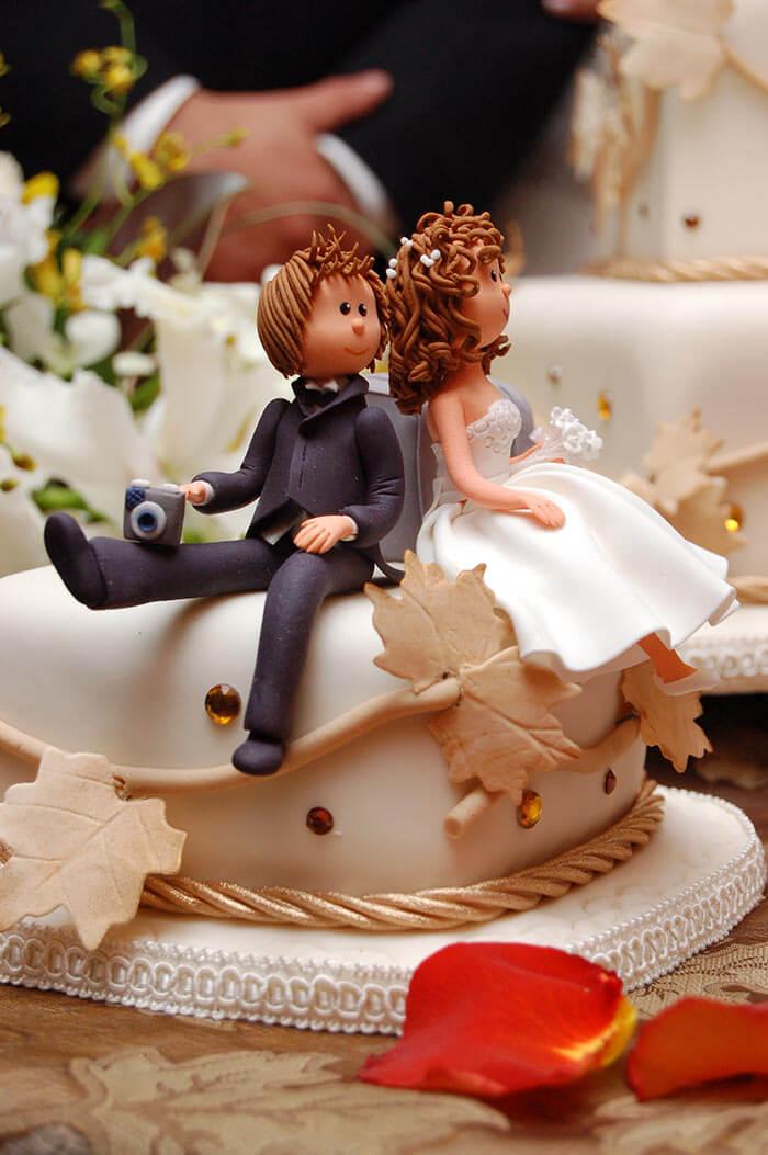 Hochzeitstorte Figuren