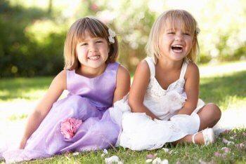 Kinder bei der Hochzeit