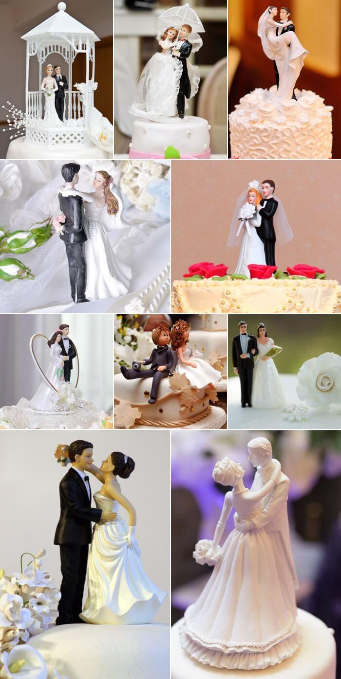 Hochzeitstortenfiguren Inspirationen Von Klassisch Bis Ausgefallen