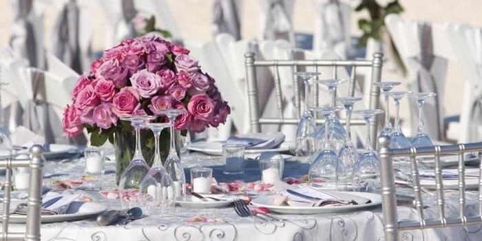 Silberhochzeit Deko Ideen Für Tisch Und Saal