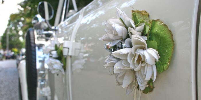Autodeko Hochzeit