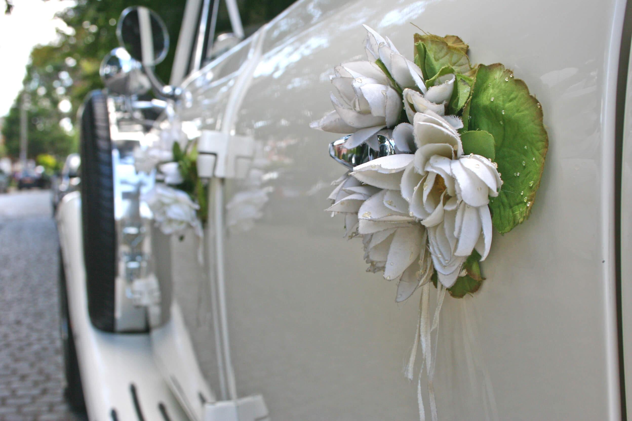 Autodeko Hochzeit  Infos, Tipps und Bastelanleitung