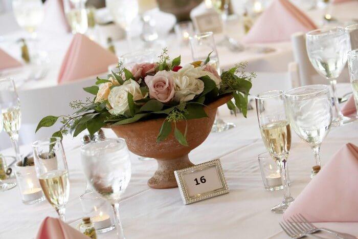Blumengestecke Für Die Hochzeit Ideen Tipps Beispiele