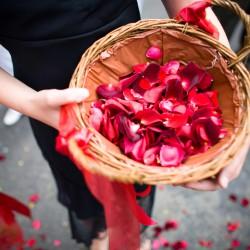 Blumenkorb Hochzeit