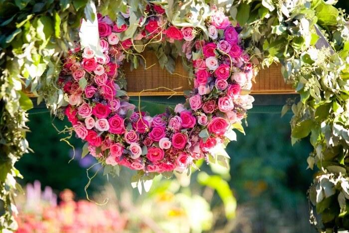 Blumenkranz Hochzeit Bildergalerie Hochzeitsportal24