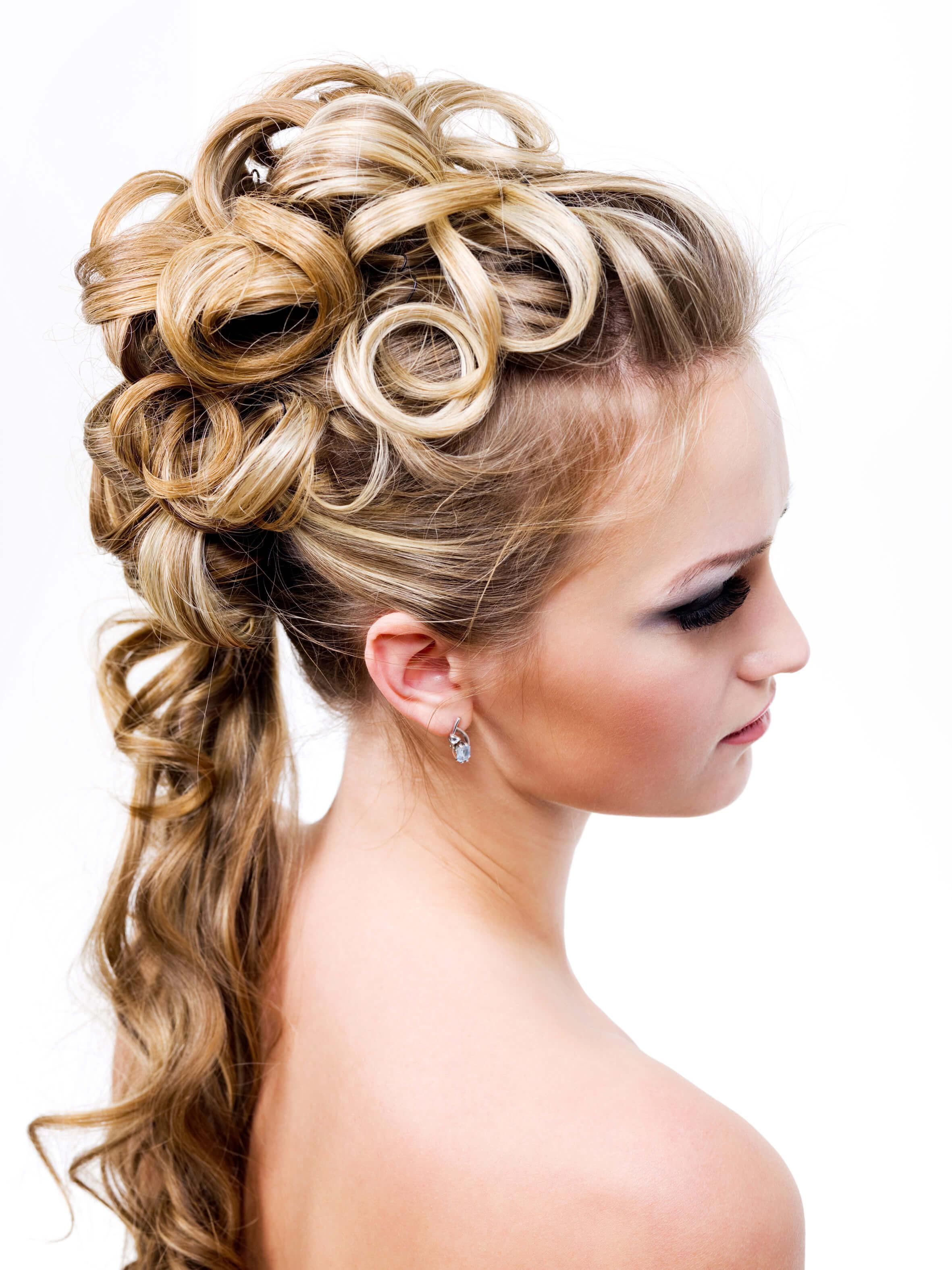 Brautfrisur lange Haare - Bildergalerie Hochzeitsportal24