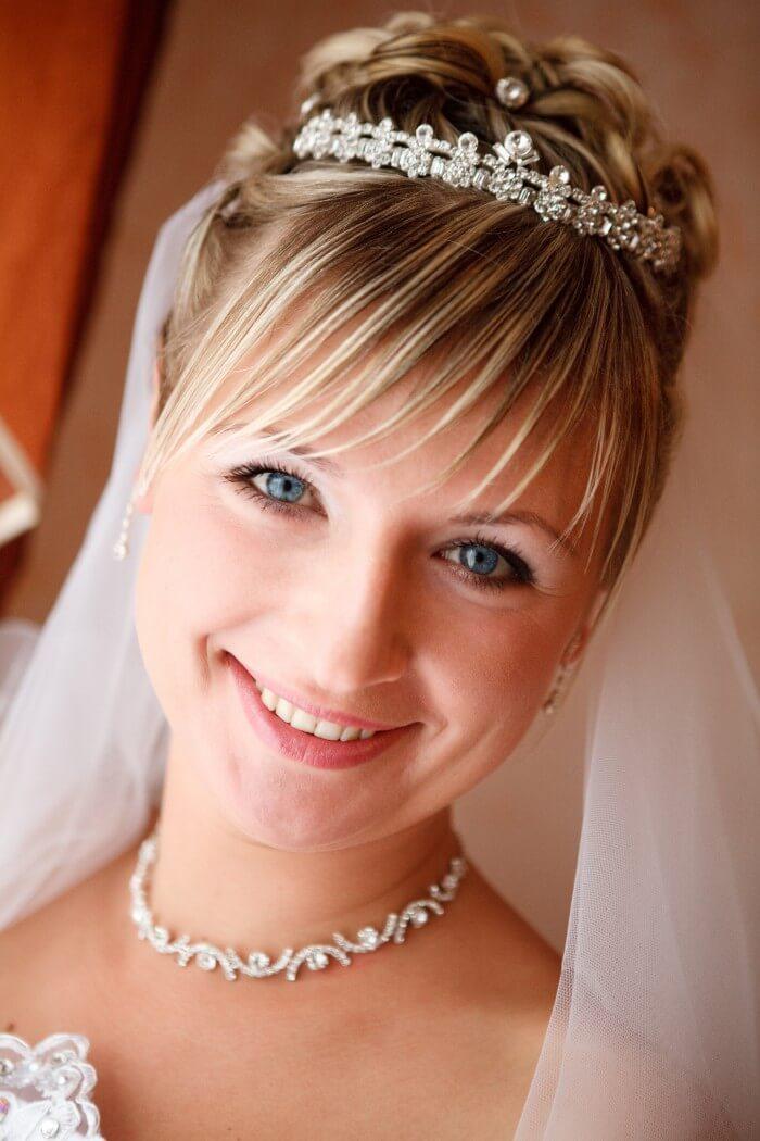 Brautfrisuren Für Kurze Haare Tipps Beispiele