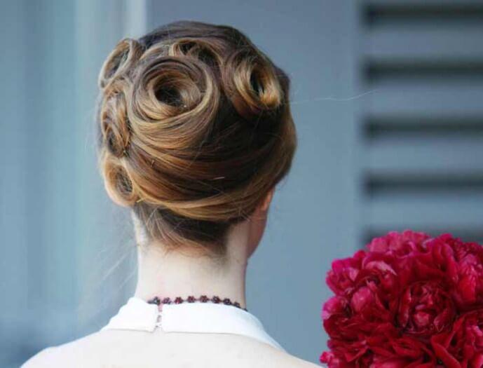 Brautfrisur Ohne Schleier Bildergalerie Hochzeitsportal24