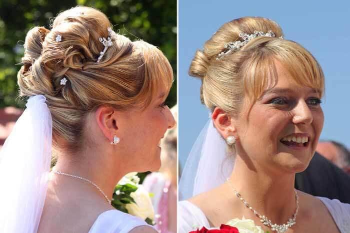 Brautfrisuren Hochgesteckt Bildergalerie Hochzeitsportal24