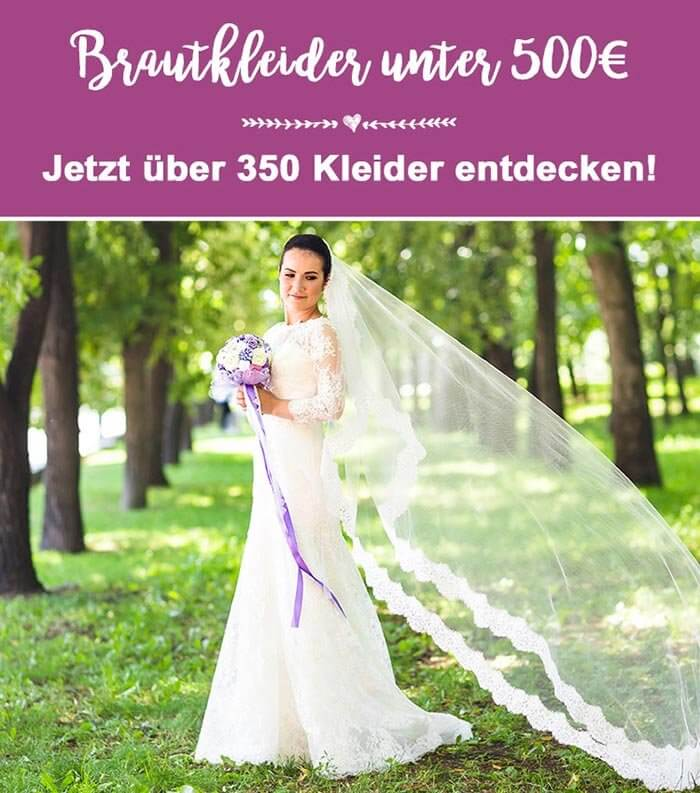 Brautkleider unter 500 Euro