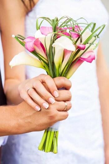 Brautstrauß Calla