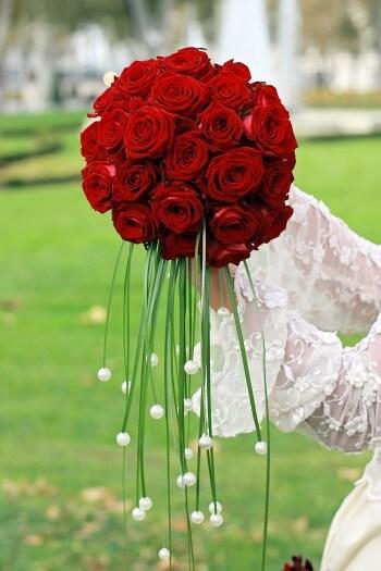 Brautstrauß außergewöhnlich