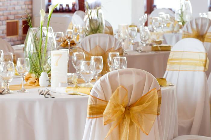 Deko Ideen für die Goldene Hochzeit - Hochzeitsportal24