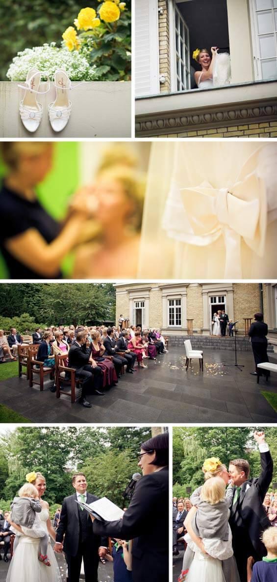 Hochzeit Fotostory Trauung